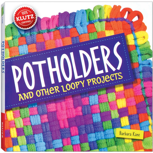 KLUTZ - Potholders And Other Loopy Projects Book Kit - (K544943) 730767449438