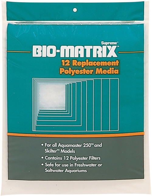 DANNER - Supreme Bio-Matrix Polyester Replacement Filters 12/Pkg - (11866) 025033118669