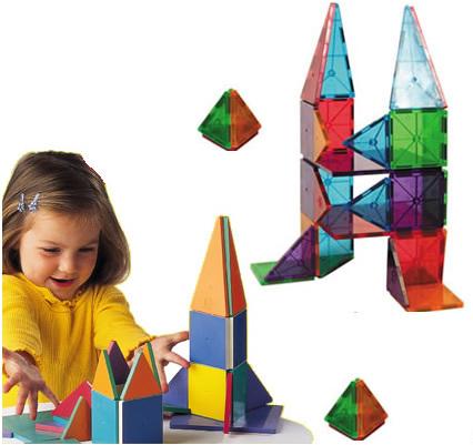 Magna-Tiles & 3D Magnetic Building Toys
