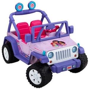 Power Wheels CDD17 Dora & Friends Jeep Parts