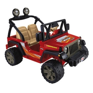 Power Wheels BCK85 Jeep Wrangler Replacement Parts