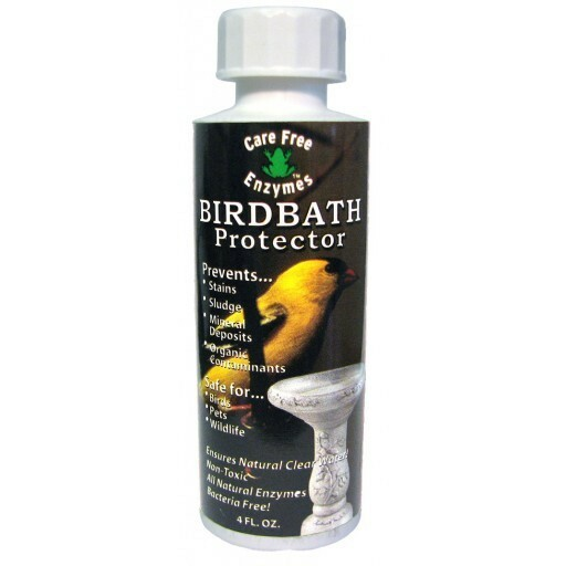 Bird Bath Cleaner
