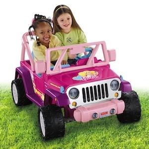 Power Wheels CBF64 Barbie Jammin Jeep Parts