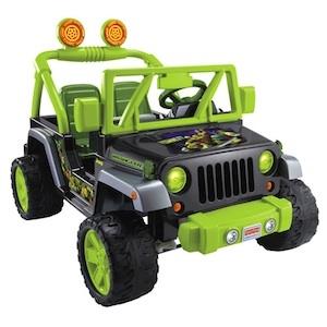 Power Wheels CHM44 T.M. Ninja Turtles Jeep Parts