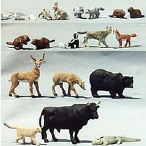 O Scale FIGURES (People and Animals)