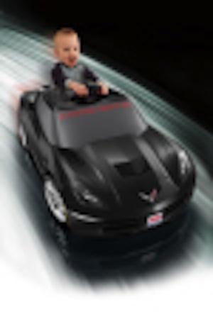 Power Wheels BGW46 Corvette Stingray Black Parts