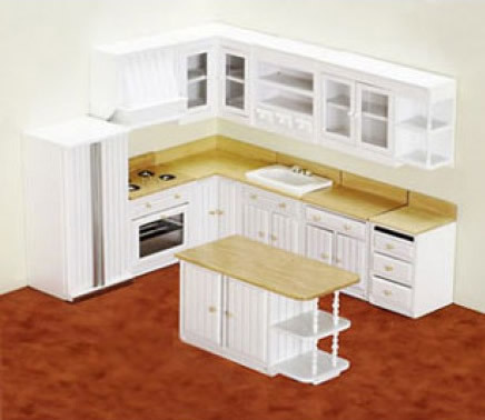 "1"" Scale KITCHEN FURNITURE"