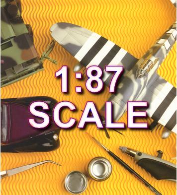 1:87 Scale Model Kits