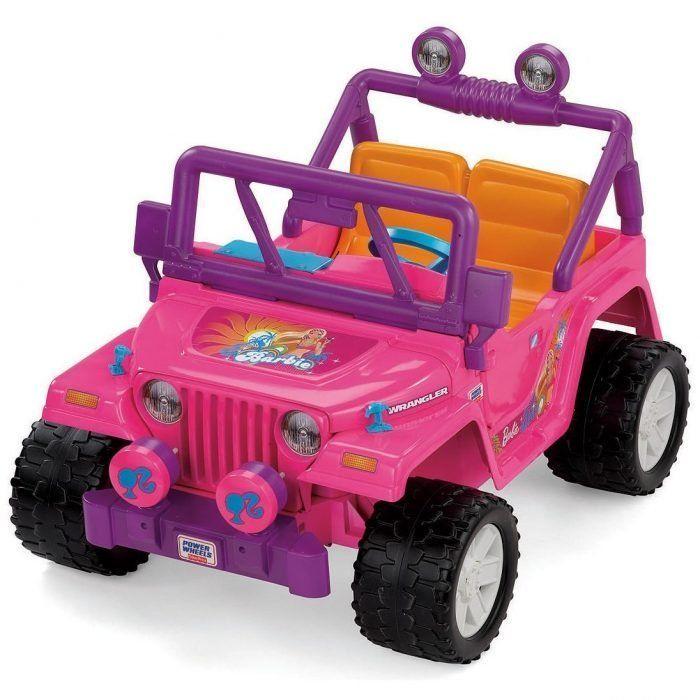 Power Wheels BBF04 Barbie Jammin Jeep Parts