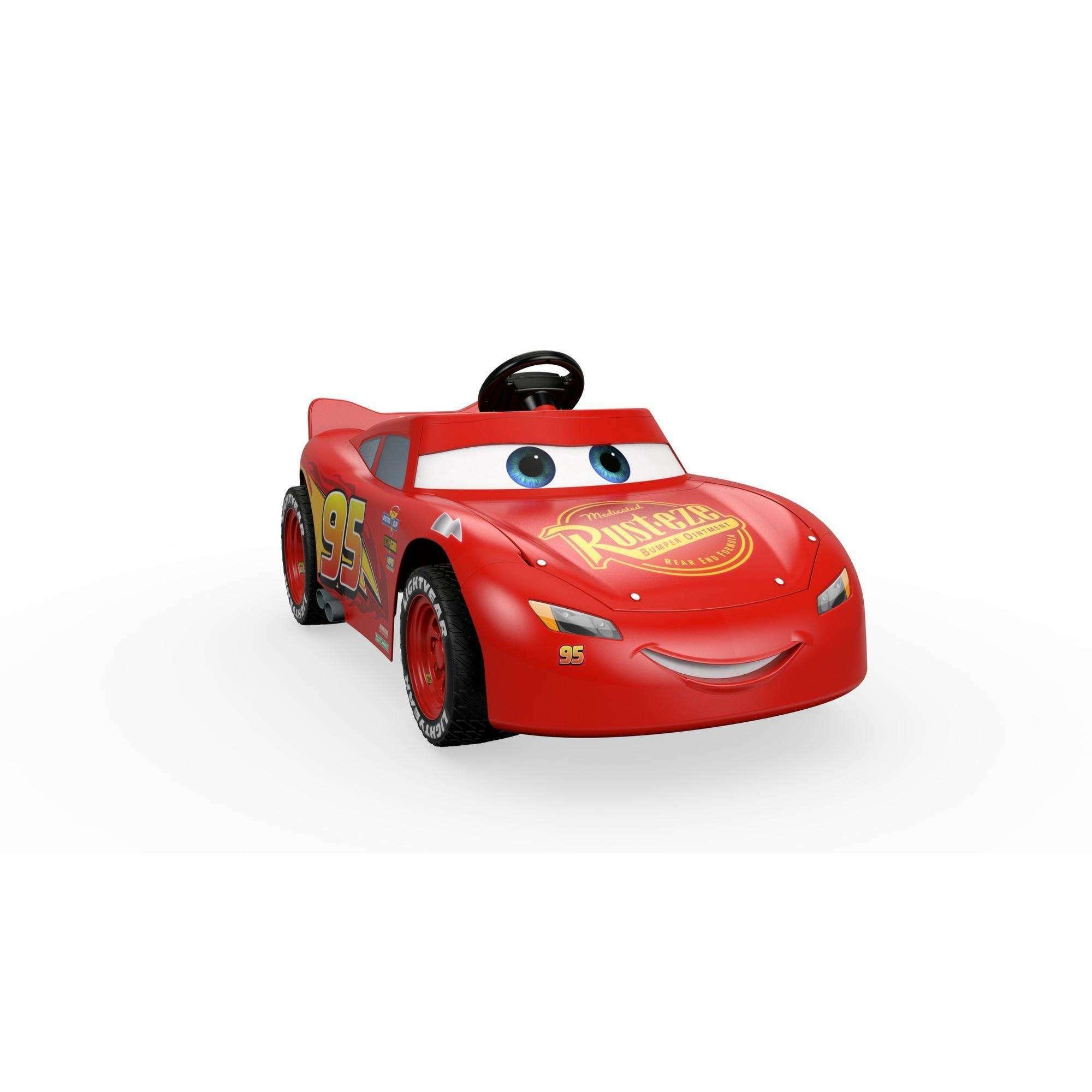 Lightning McQueen (Red or Gray Battery)