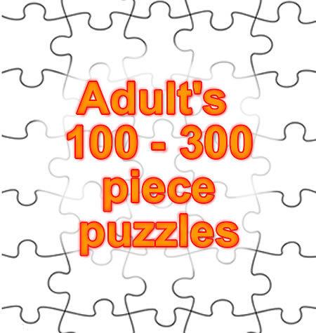 100 - 300 PIECE PUZZLES