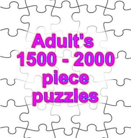 1,500 - 2,000 PIECE PUZZLES