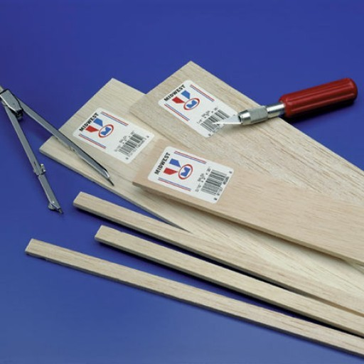 Balsa Wood & Basswood for Model Building