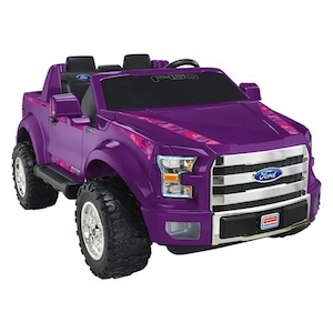 Power Wheels BCV58 Ford F-150 (Purple-Pink) Parts