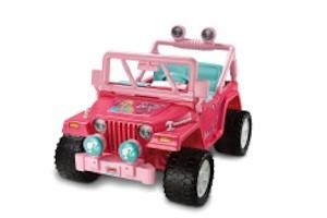 Power Wheels CBJ38 Barbie Jammin Jeep 2 Set Parts