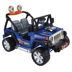 Power Wheels CBG61 Hot Wheels Jeep Parts