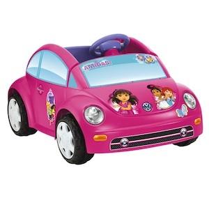 Power Wheels CDD19 Dora & Friends VW Beetle Parts