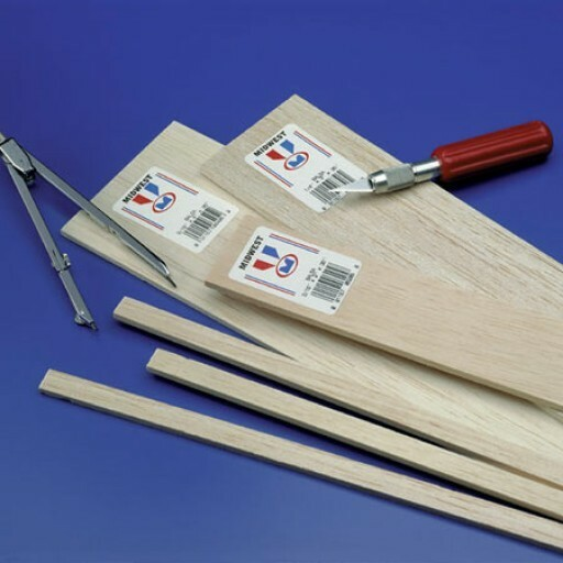 WOOD Balsa & Basswood for Model Building