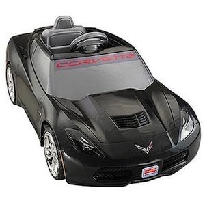 Power Wheels BGW47 Deluxe Corvette Black Parts
