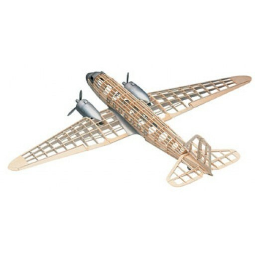 Balsa Wood Airplane Models