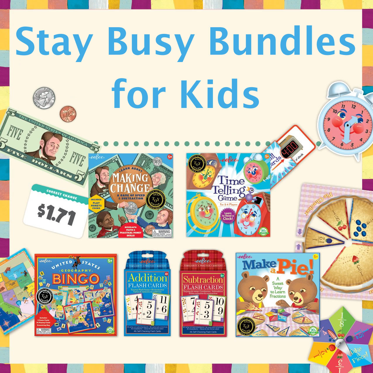 Stay Busy Bundles for Kids
