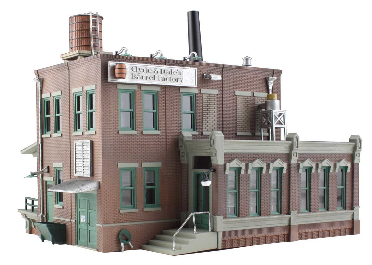 HO SCALE Buildings & Trackside Structures