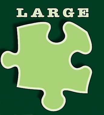 Large Format - Large Pieces - Jigsaw Puzzles