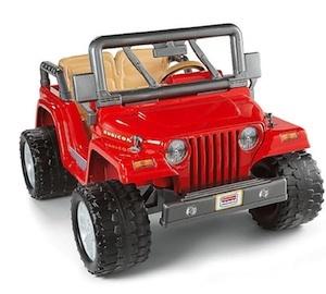 Power Wheels BGN14 Jeep Rubicon Parts