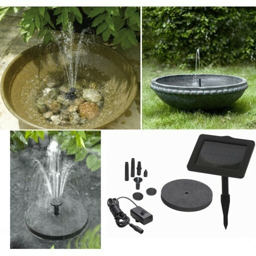 Bird Baths - Solar