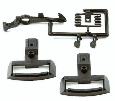 G Scale TRAIN PARTS (Couplers, Wheels, Details)