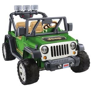 Power Wheels CBG65 Jeep Wrangler (ToysRUs) Parts