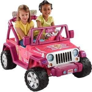 Power Wheels CHP65 Barbie Jeep Wrangler Parts
