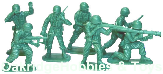 Army Toy Soldiers, School Project Diorama Figures