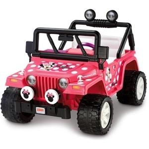 Power Wheels BBM95 MinnieMouse Jeep Wrangler Parts
