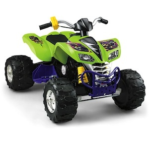 Power Wheels BCK86 T.M.N.Turtle Kawasaki KFX Parts