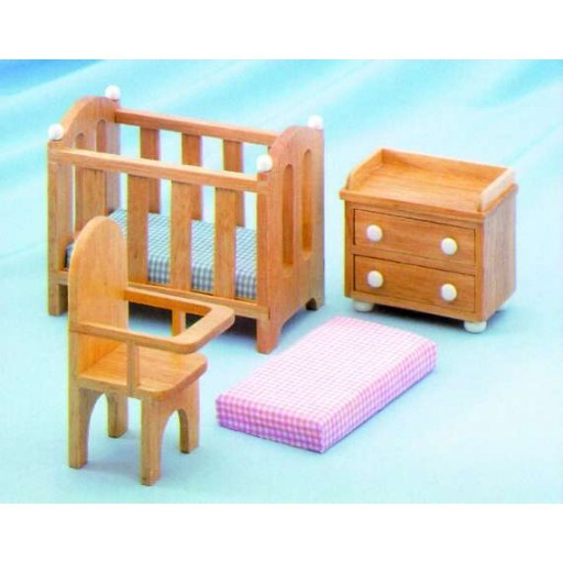 "1"" Scale CHILDREN'S PLAY DOLLHOUSE FURNITURE"