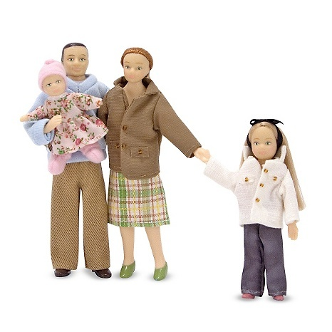 "1"" Scale FIGURES (Doll People, Families, Animals)"