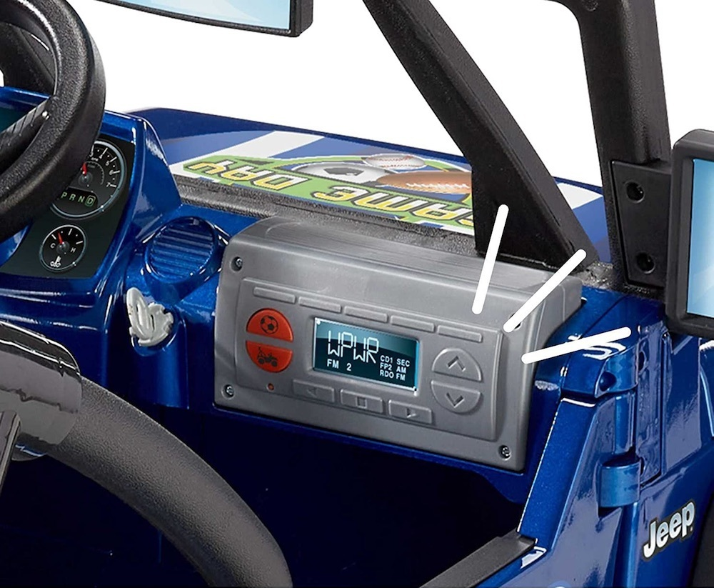 Dashboards, Radios and Soundboxes