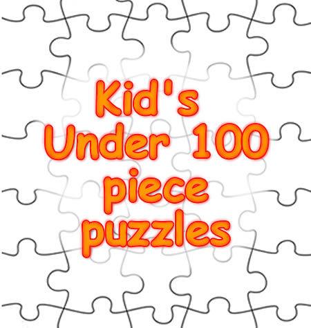 Children's Under 100 PIECE Puzzles