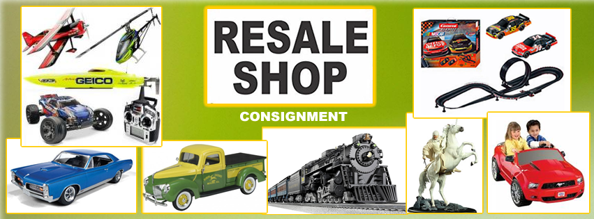 Oakridge Hobbies Resale Shop: used trains, vintage collectibles, dollhouses, vintage toys, die cast