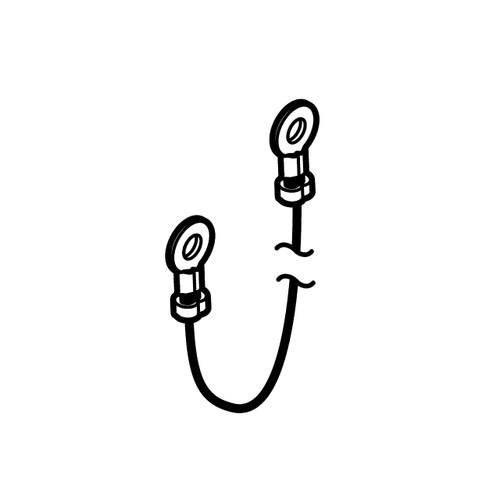 ECHO V485001180 - WIRE LEAD L=195MM - Image 1