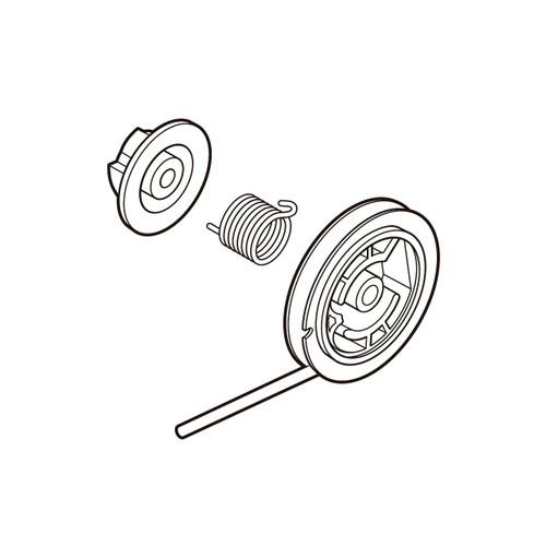 ECHO P050009920 - ROPE REEL KIT - Image 1