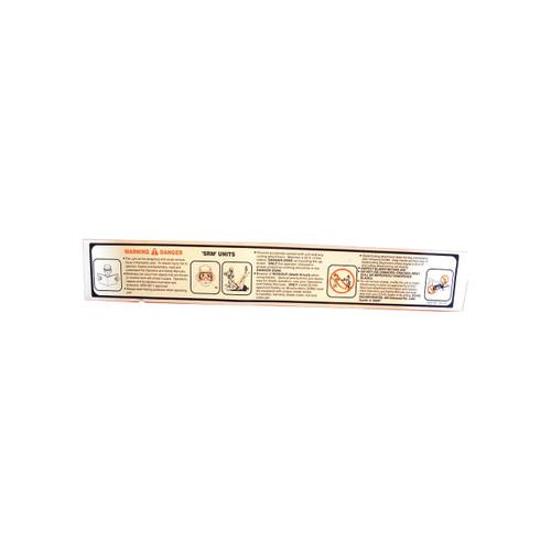 ECHO 89016054130 - LABEL CAUTION - Image 1