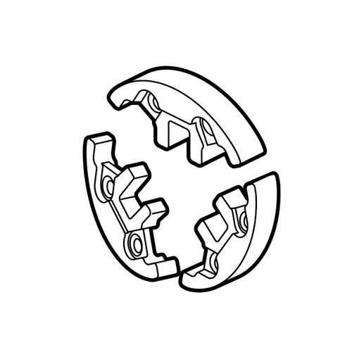 ECHO P100004180 - CLUTCH SHOES SET - Image 1