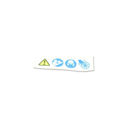 ECHO X505002080 - LABEL CAUTION - Image 1
