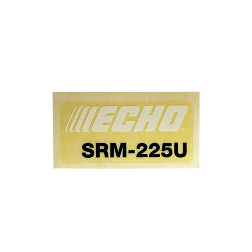 ECHO X547001330 - LABEL MODEL - Image 1