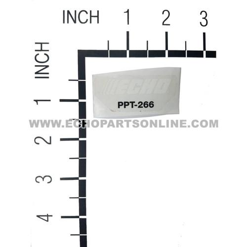 ECHO X547002050 - LABEL MODEL - Image 1