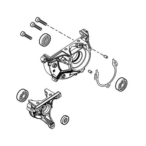 ECHO P021052790 - CRANKCASE ASSY (PB-2620) - Image 1
