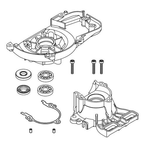 ECHO P100006080 - CRANKCASE SET (HC-2020) - Image 1