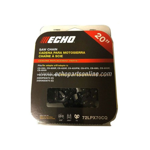 Echo Timberwolf Chain 72LPX70CQ package front view